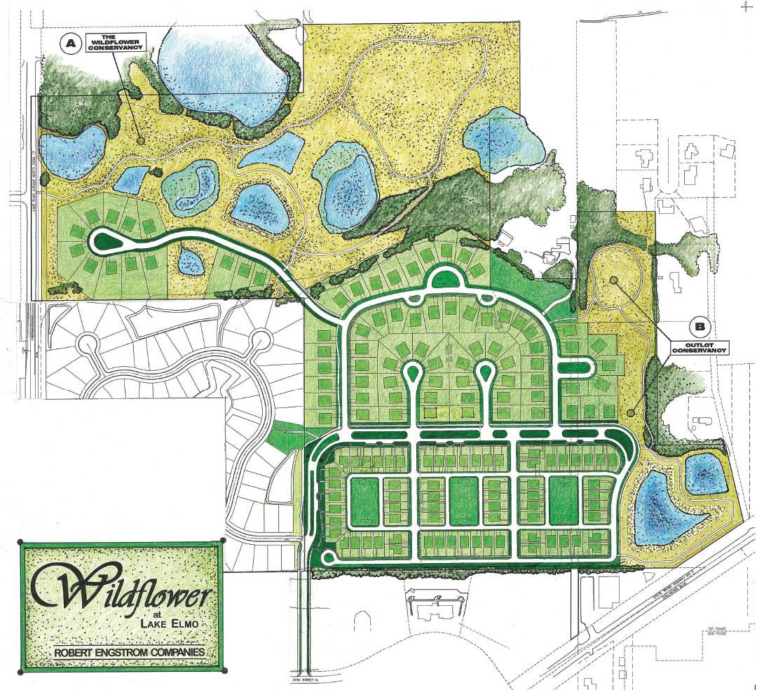 Wildflower Site Plan